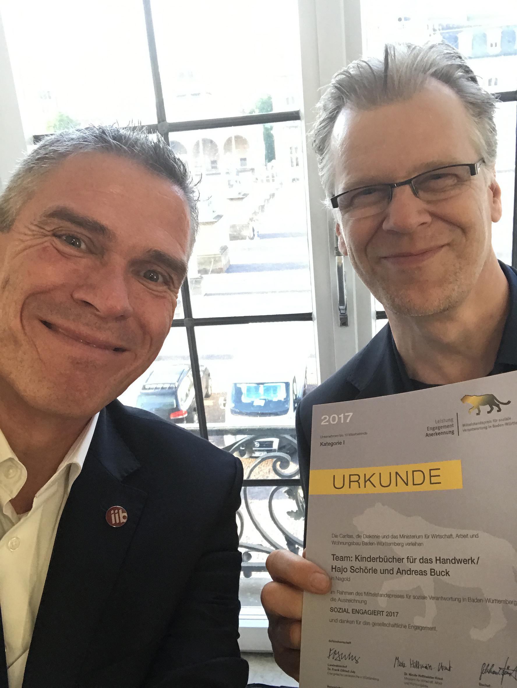 Andreas Buck + Hajo Schörle