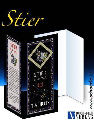 Sternzeichen-Karte Fantasy-Edition STIER