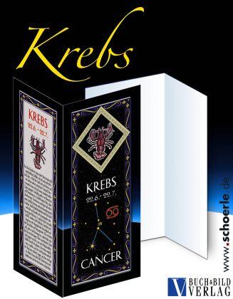 Sternzeichen-Karte Fantasy-Edition KREBS