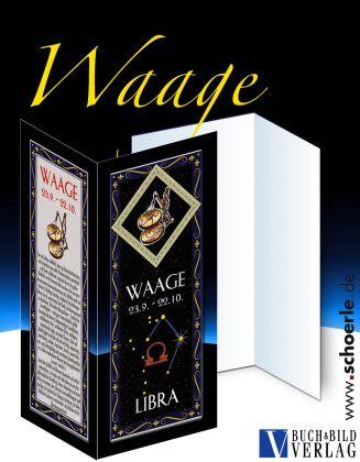 Sternzeichen-Karte Fantasy-Edition WAAGE