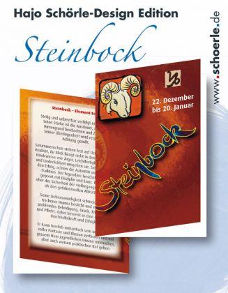 Sternzeichen-Karten Design-Edition - STEINBOCK