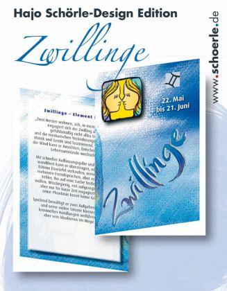 Sternzeichen-Karten Design-Edition - ZWILLINGE