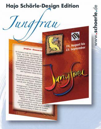 Sternzeichen-Karten Design-Edition - JUNGFRAU
