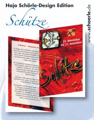 Sternzeichen-Karten Design-Edition - SCHUETZE