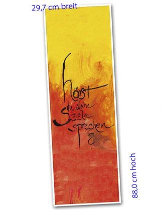 Banner-Poster 29,7 x 88,0 cm - Seele ...