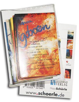 12 Anlaesse - 12 Karten · Kalligraphie-Edition