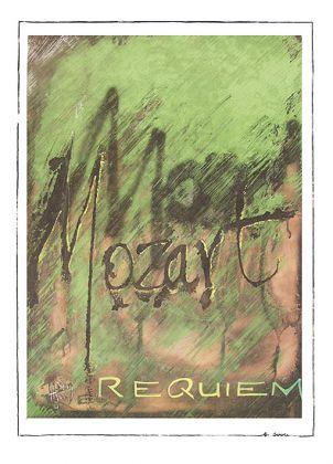 Kalligraphie - Mozart