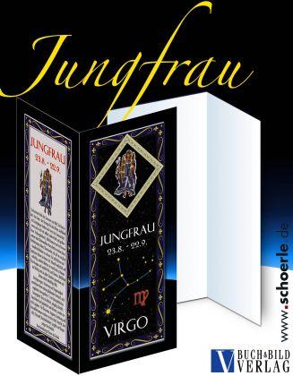 Sternzeichen-Karte Fantasy-Edition JUNGFRAU