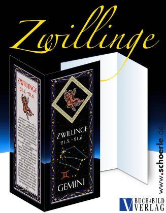 Sternzeichen-Karte Fantasy-Edition ZWILLINGE