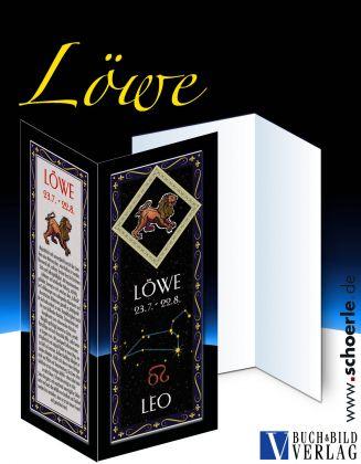 Sternzeichen-Karte Fantasy-Edition LOEWE