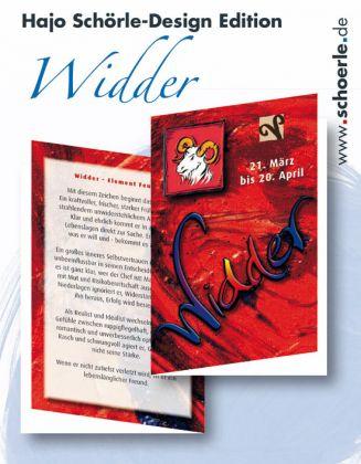 Sternzeichen-Karten Design-Edition - WIDDER