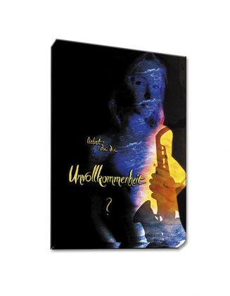 liebst du die Unvollkommenheit? - Leinwanddruck 50x70 cm